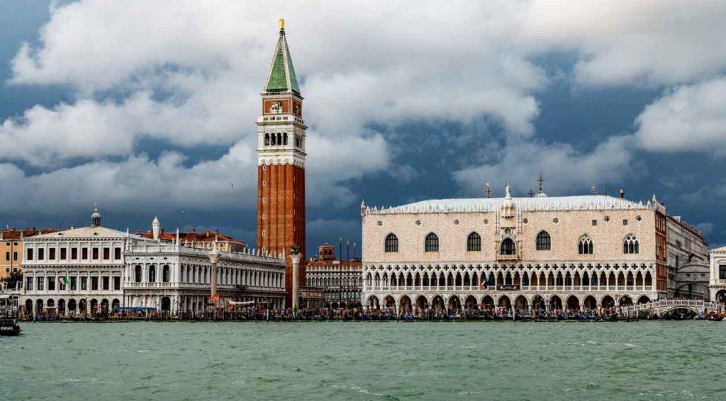 Temps d'attente aux monuments de Venise