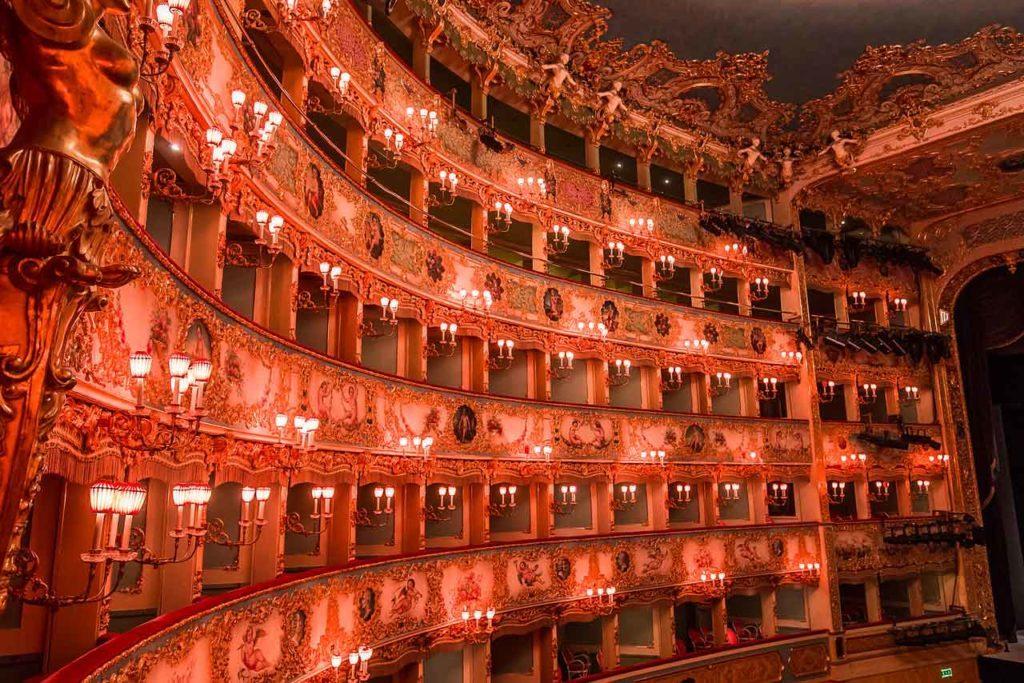 Théâtre La Fenice: horaires d'ouverture