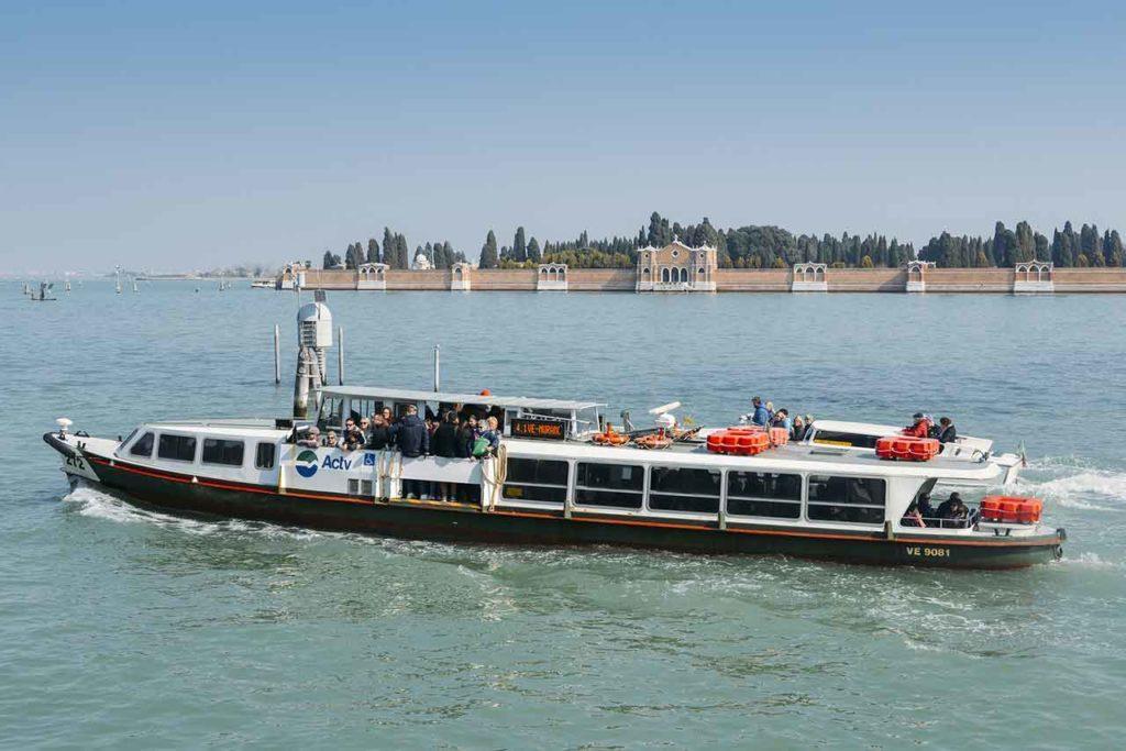 Les transports en commun à Venise